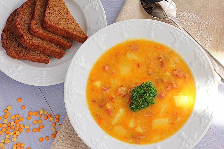 гороховый супа с копченостями пошаговый рецепт