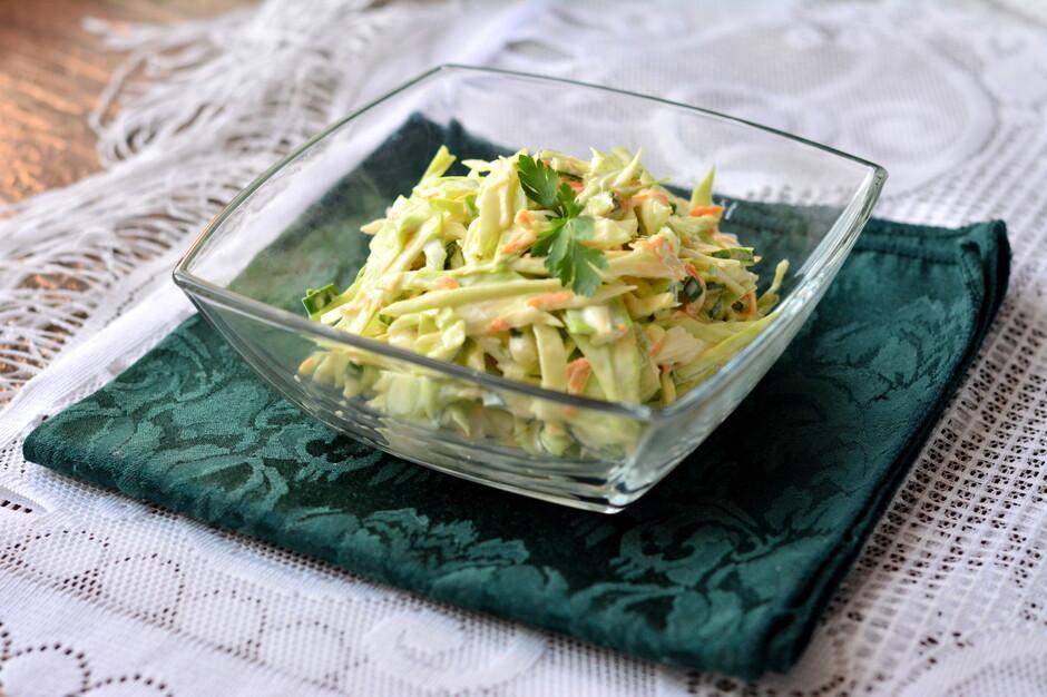 Легкий летний салат с фото