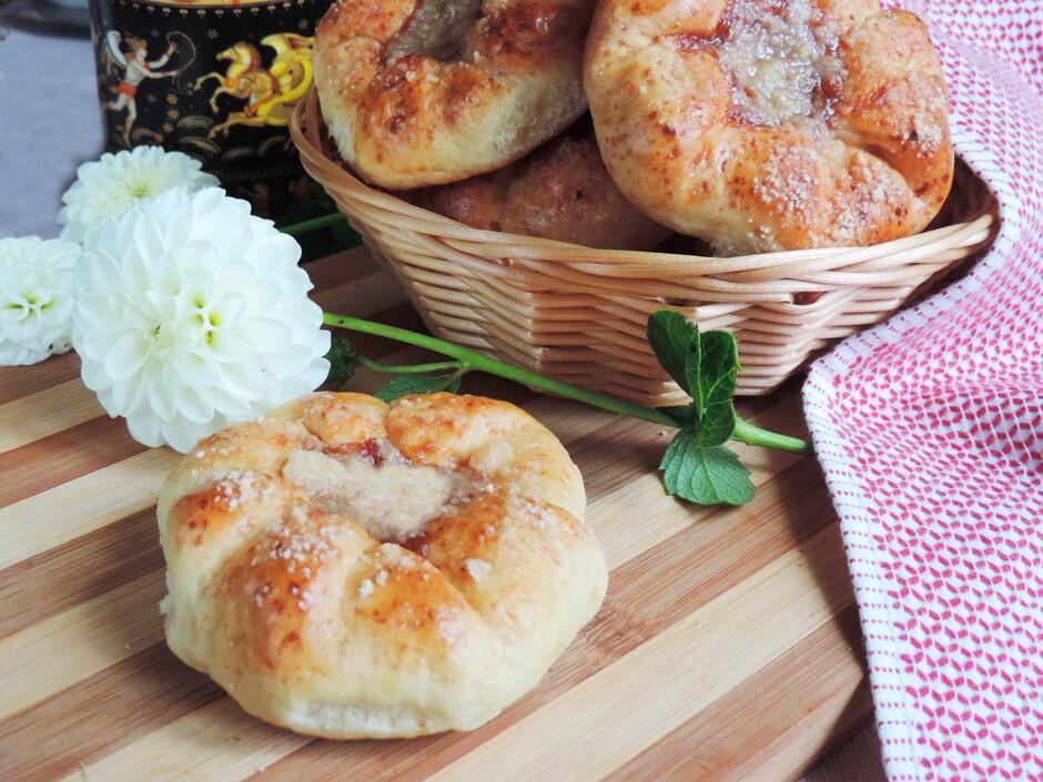 Творожные булочки «Осеннее чаепитие» за 30 минут рецепт с фото