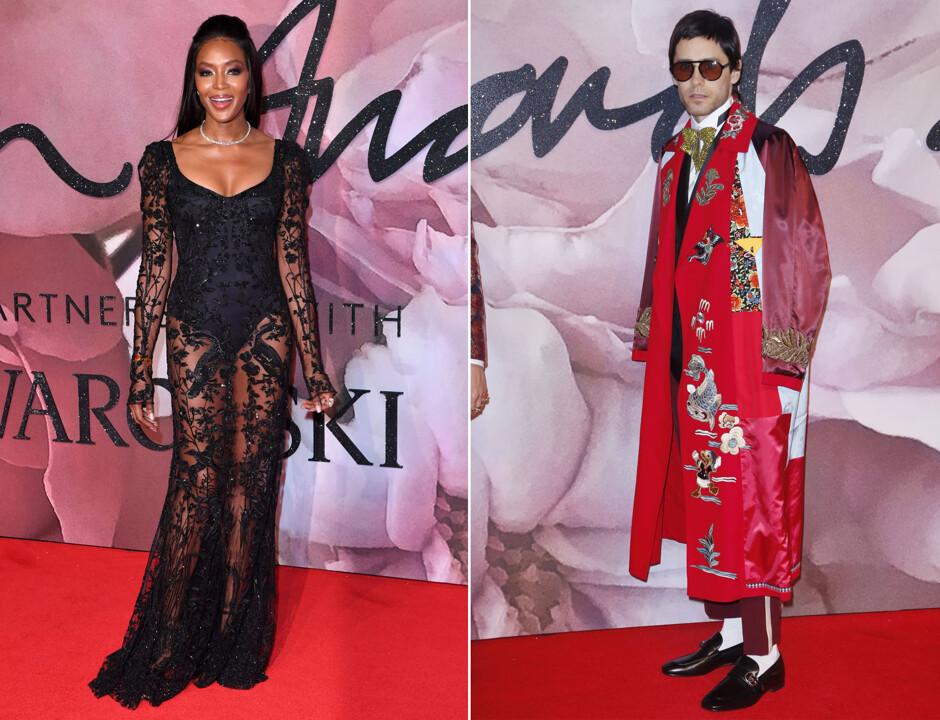 Красная дорожка ипобедители British Fashion Awards