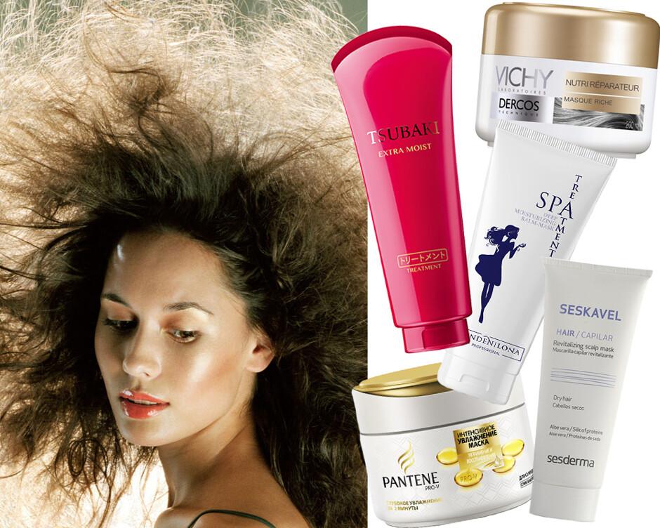 Что делать, если волосы сильно электризуются зимой и торчат словно антенны