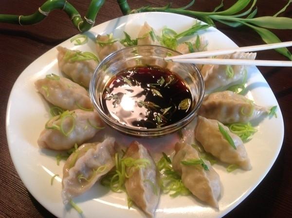 пельмени китайские рецепт с фото