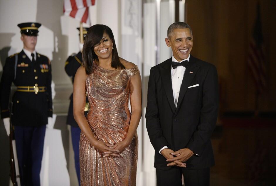 Мишель Обама показала, как отпраздновала день св.Валентина сэкс-президентом США