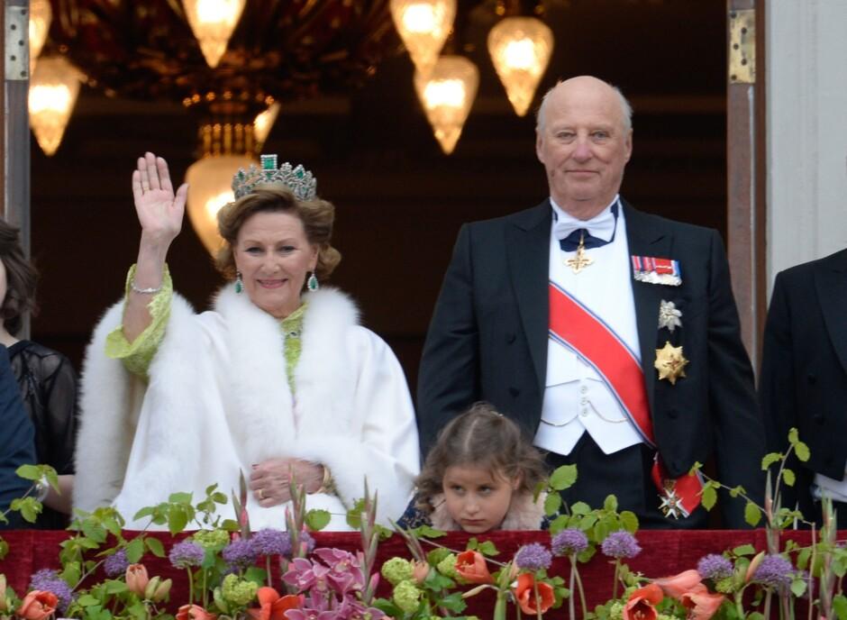 Монарх икоролева Норвегии отмечают 80-летний юбилей