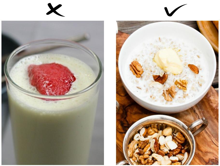 7 популярных сочетаний продуктов, которые на самом деле неполезны