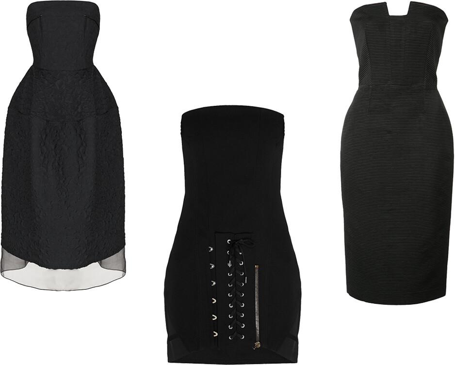 8 моделей черных платьев, которые украсят любой гардероб