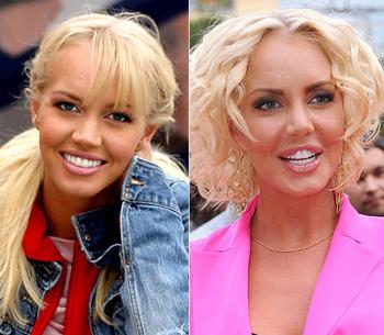 звёзды без трусов фото до и после российские звезды
