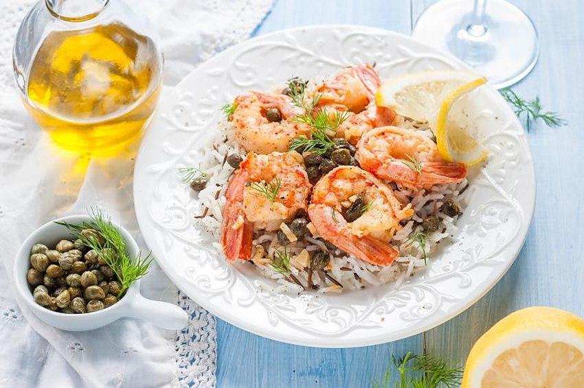 блюда из отварного риса рецепты с фото