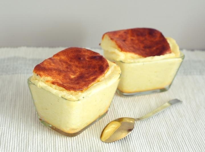 рецепт французского сырного суфле
