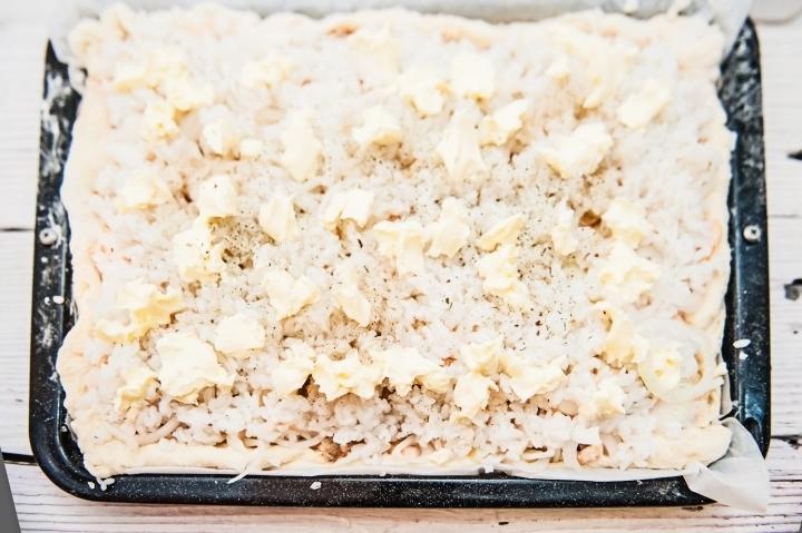Рыбный пирог с рисом рецепт пошаговый