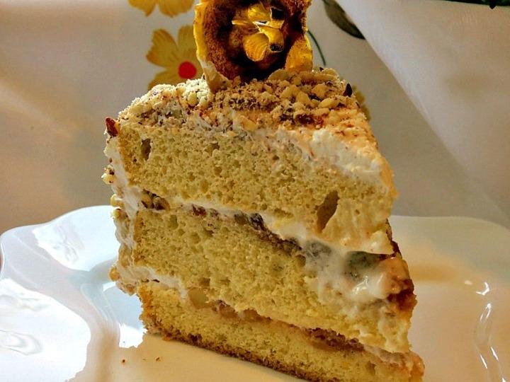 Торт с маскарпоне пошаговый