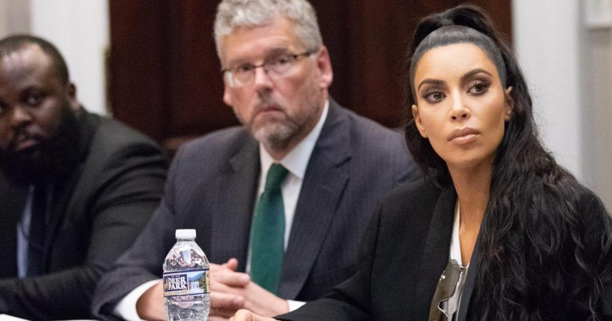Ким Кардашьян снова выступила в Белом доме в поддержку заключенных