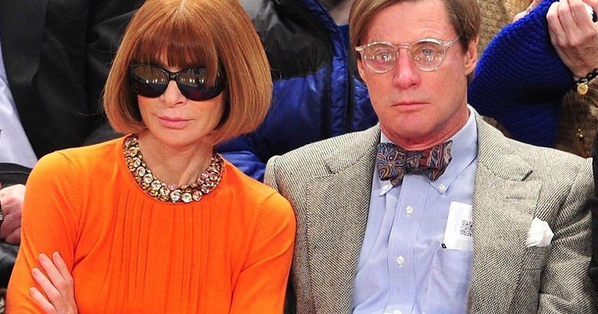 СМИ: главред американского Vogue Анна Винтур рассталась с мужем