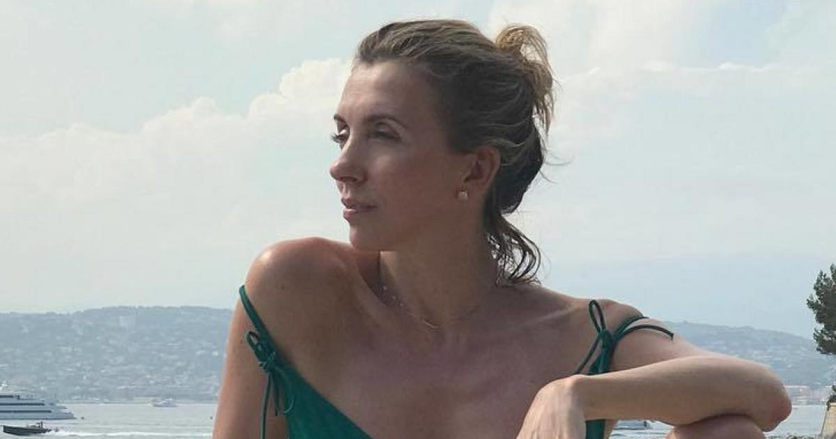 Светлана бондарчук поделилась пляжным фото