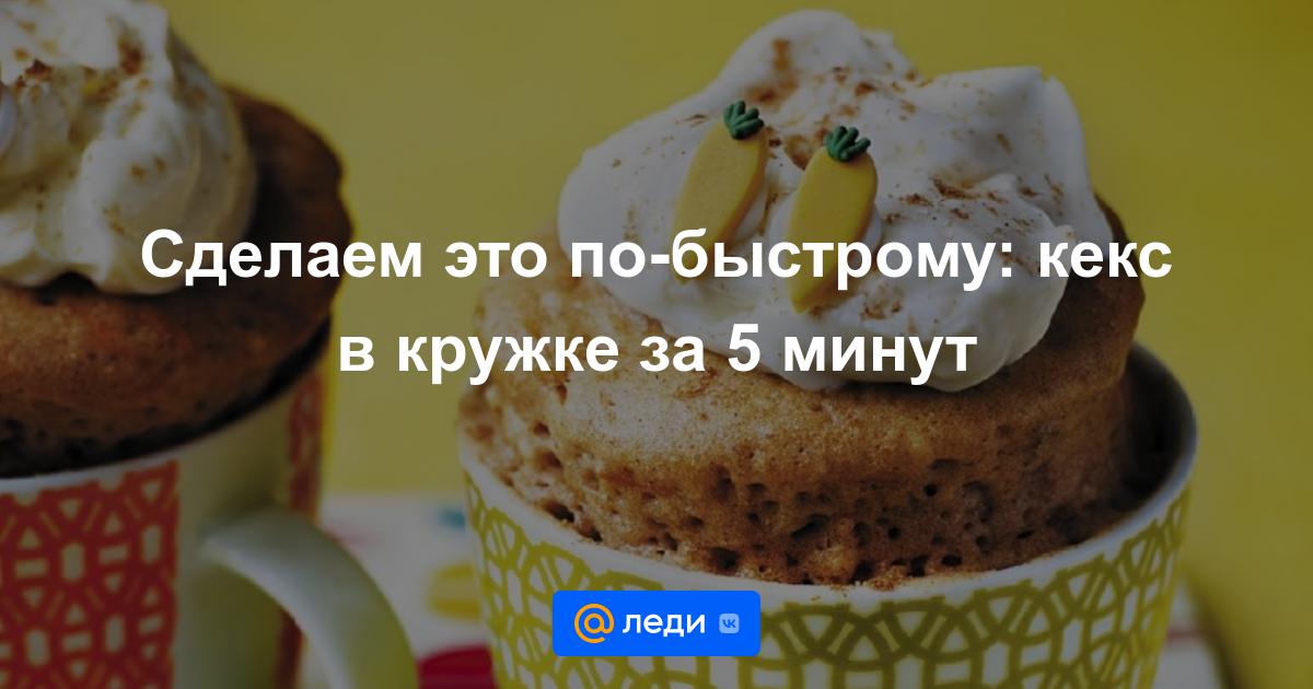 Как сделать кексы без соды